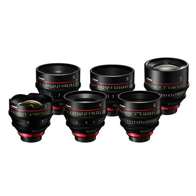 Canon CN Primes