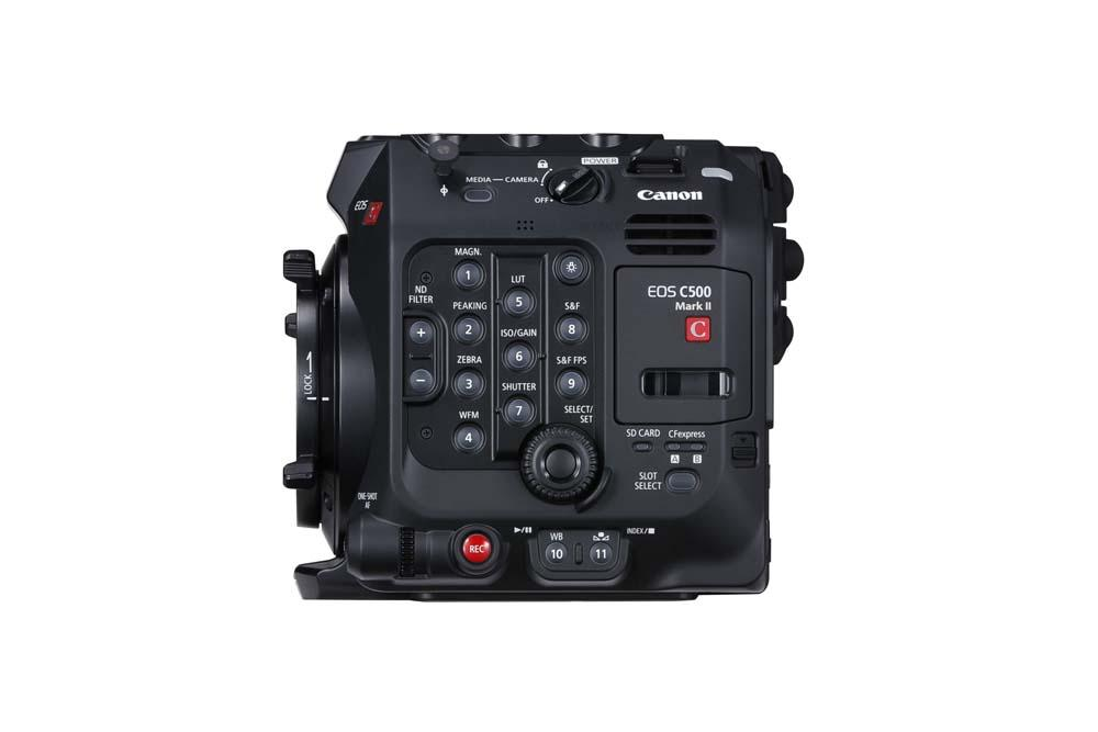 EOS C500 Mark II WITH EF CINEMA LOCK RIGHT SIDE