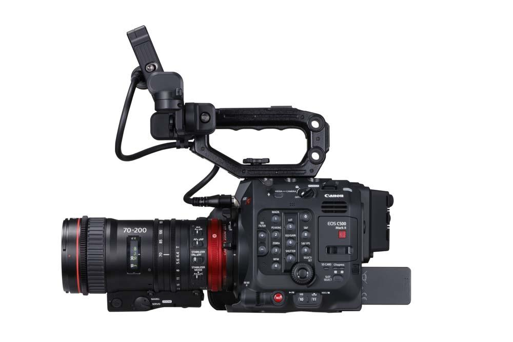 EOS C500 Mark II WITH FULL KIT EU-V1 AND CN-E70-200 RIGHT SIDE