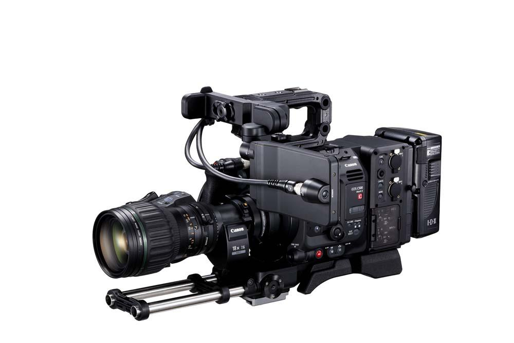 EOS C500 Mark II WITH FULL KIT EU-V2 AND BCTV LENS FSL 2
