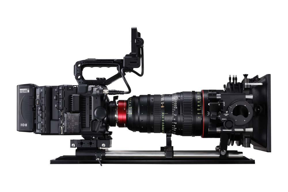 EOS C500 Mark II WITH FULL KIT EU-V2 AND CN-E30-300MM LEFT SIDE