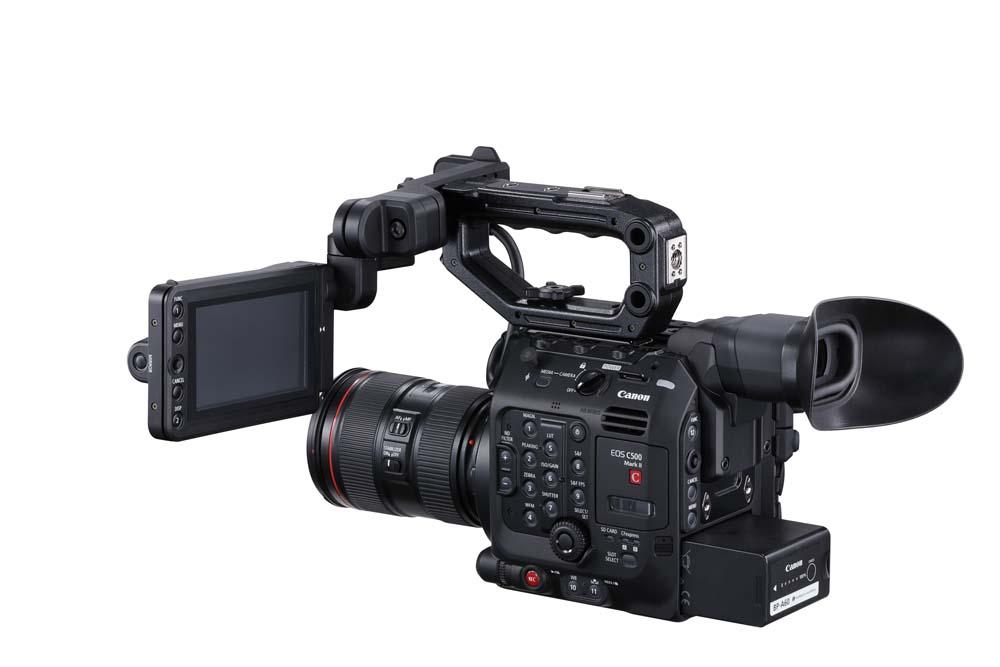 EOS C500 Mark II WITH FULL KIT PLUS EVF-V50 BSR 2