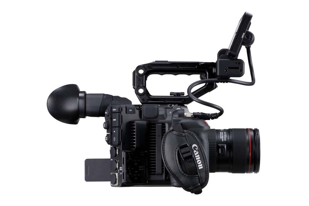 EOS C500 Mark II WITH FULL KIT PLUS EVF-V50 LEFT SIDE