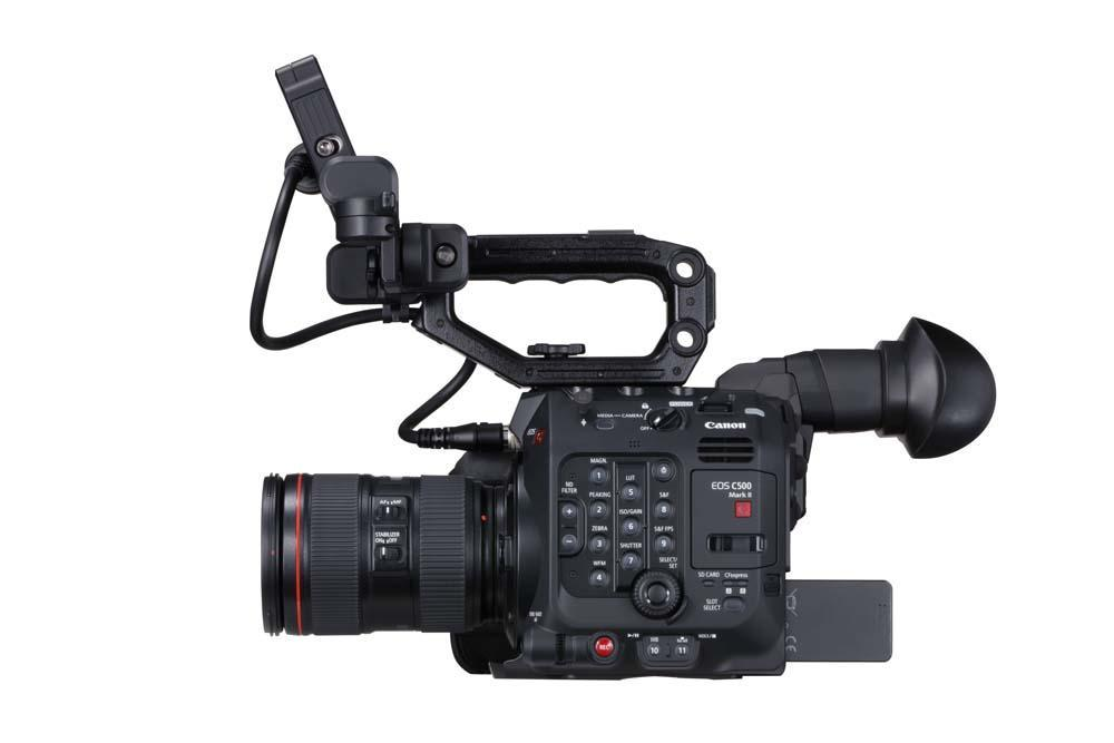 EOS C500 Mark II WITH FULL KIT PLUS EVF-V50 RIGHT SIDE