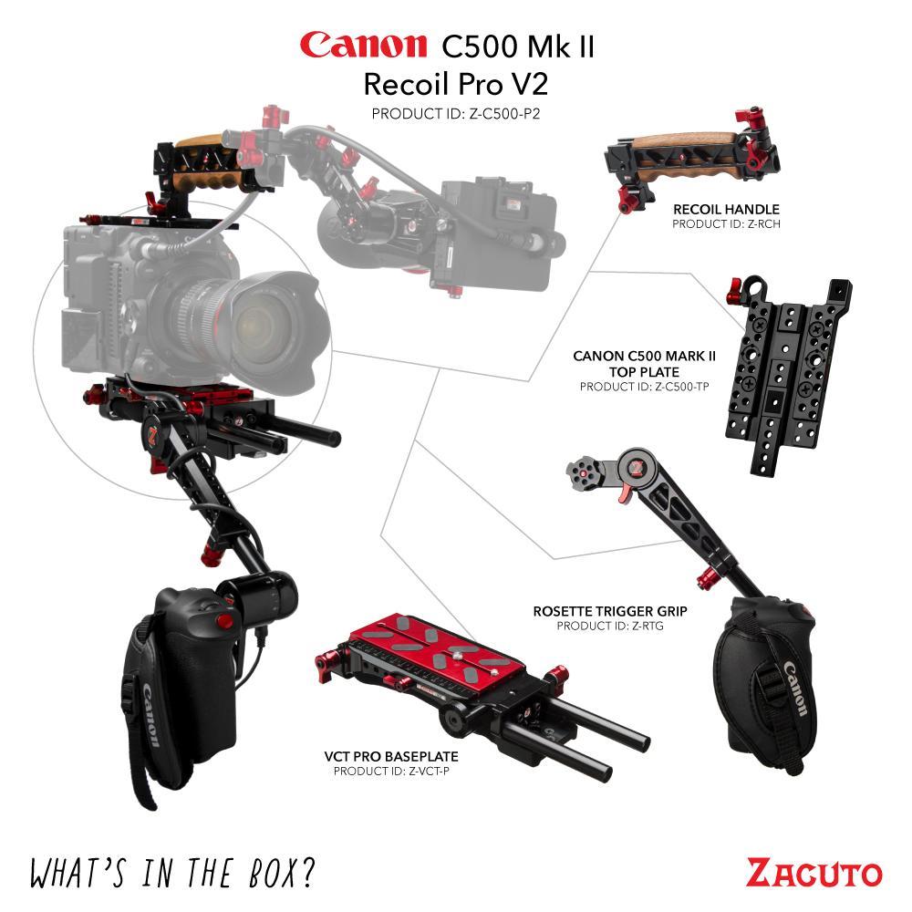 Zacuto C500 MarkII Recoil