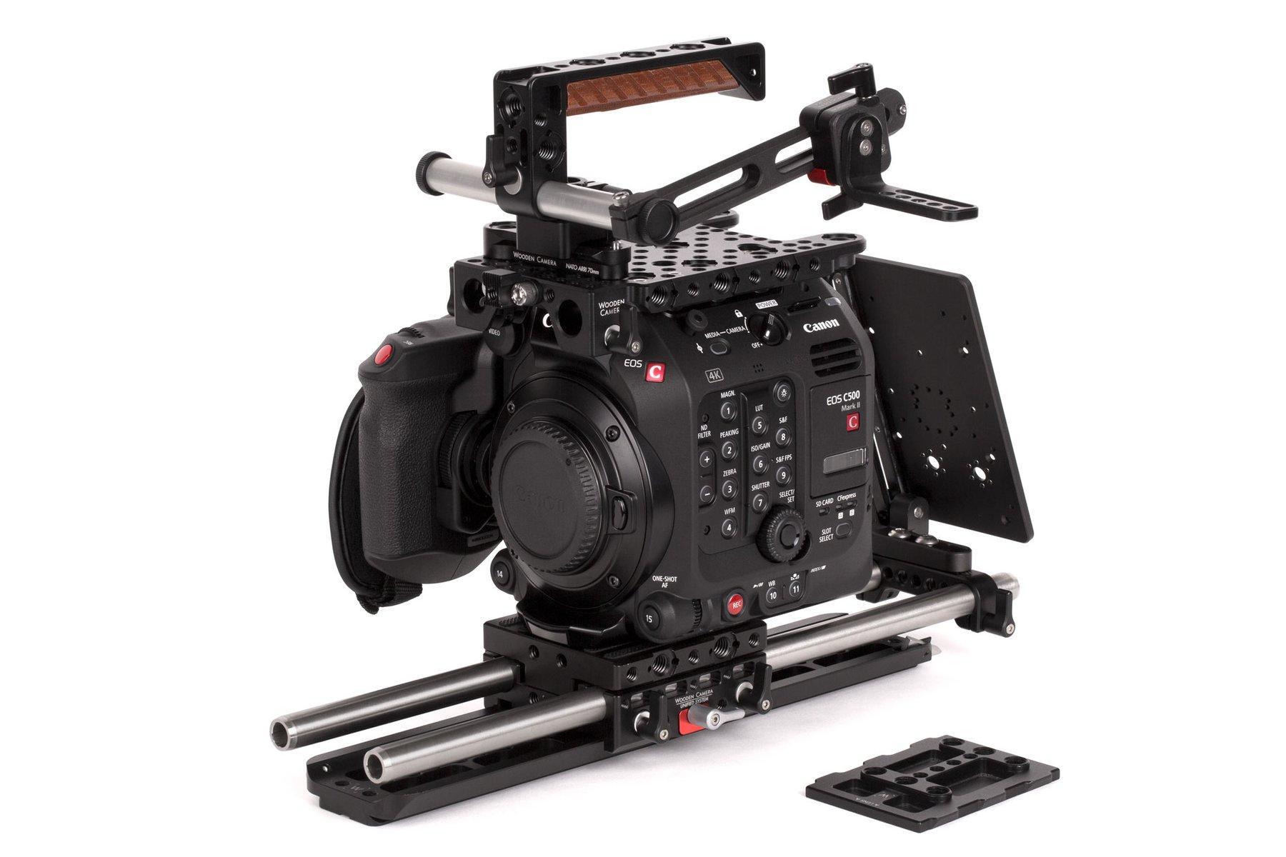 Wooden Camera – Canon C500 MarkII – Pro Kit – Montado
