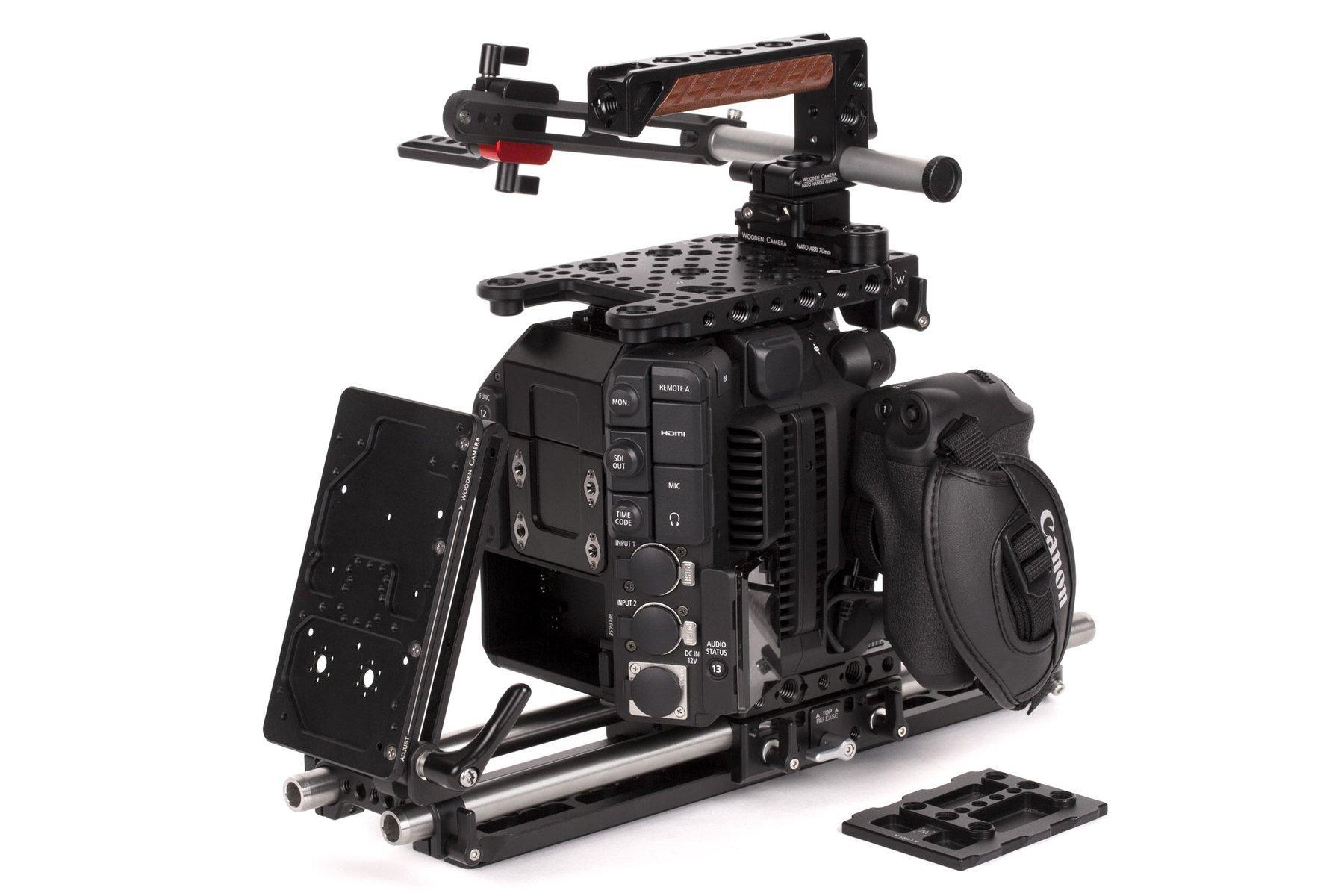 Wooden Camera – Canon C500 MarkII – Pro Kit – Vista lateral