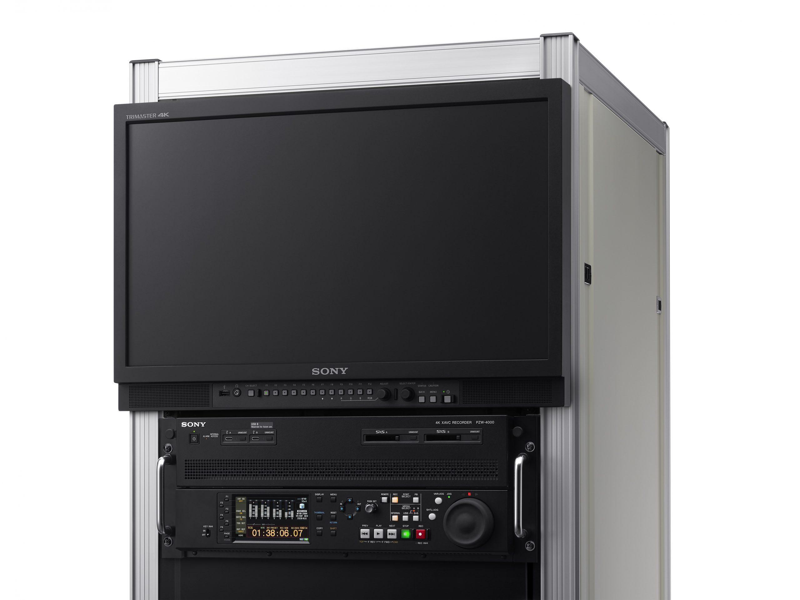 Sony Trimaster PMV-X2400 4K HD rack