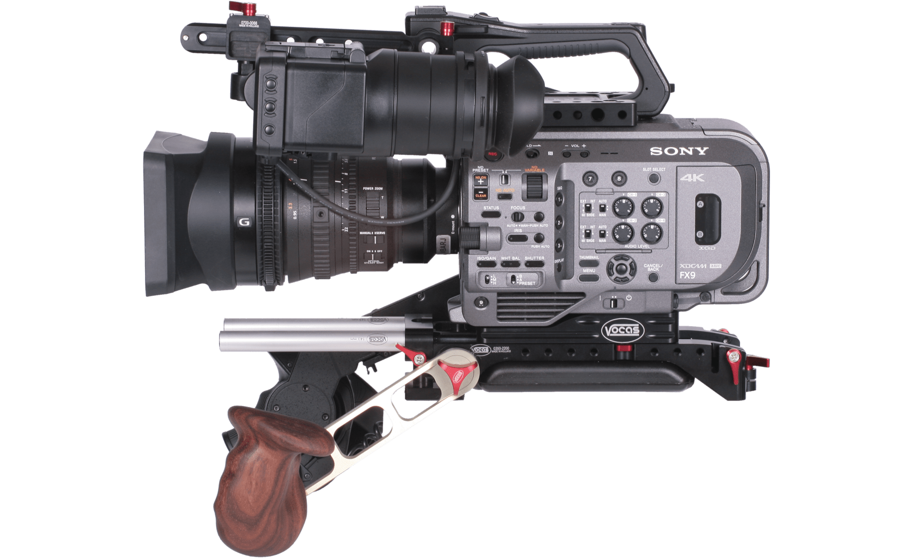 Vocas Sony PXW FX9 – Production kit – Lateral2