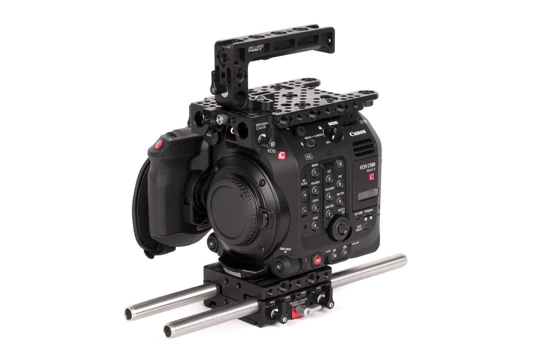 Wooden Camera – Canon C500MKII – Kit Base Frontal