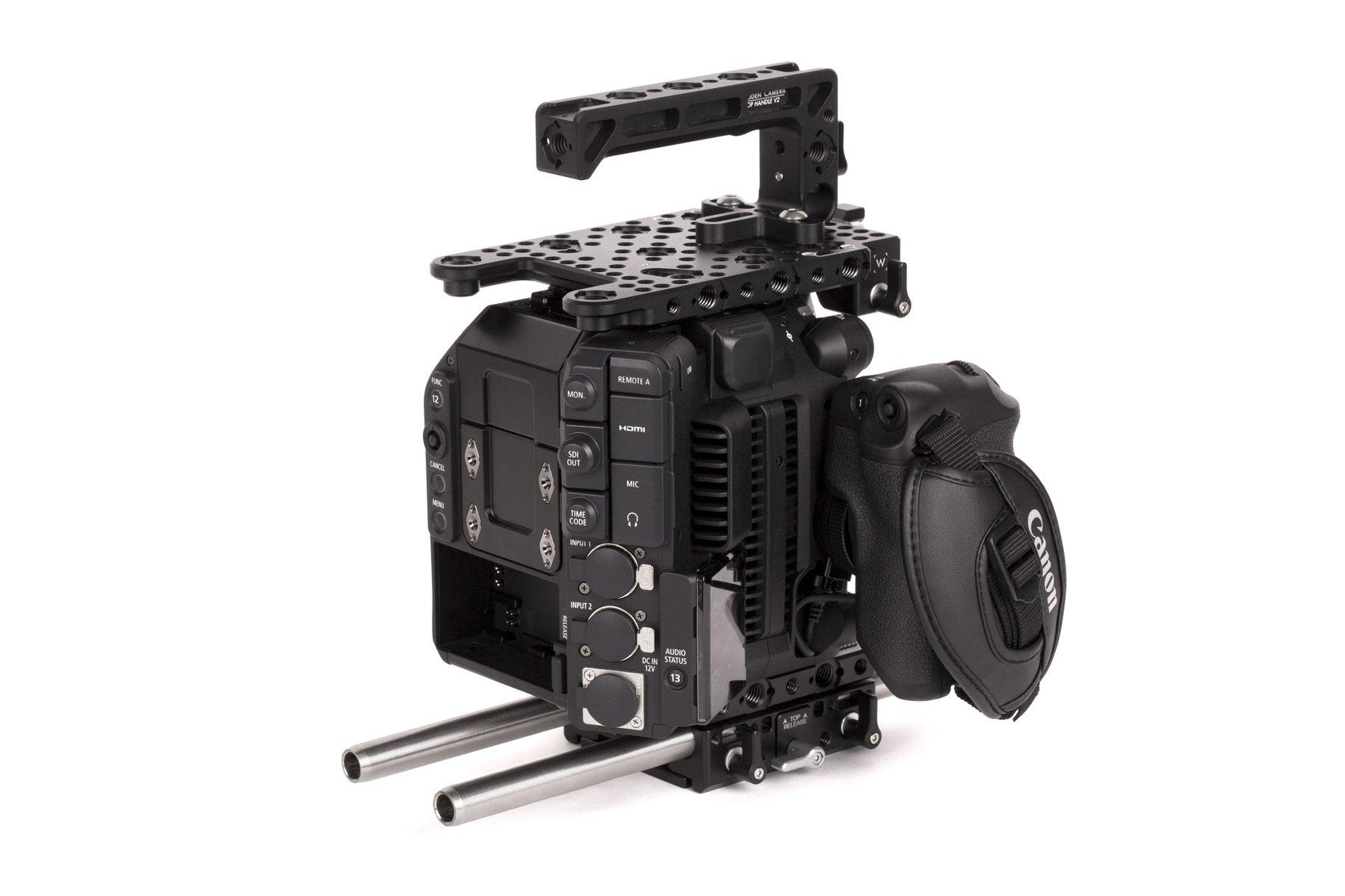 Wooden Camera – Canon C500MKII – Kit Base lateral