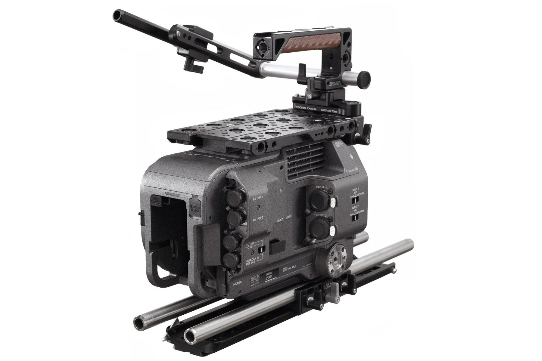 Wooden Camera – Sony FX9 – Kit Pro – Trasera