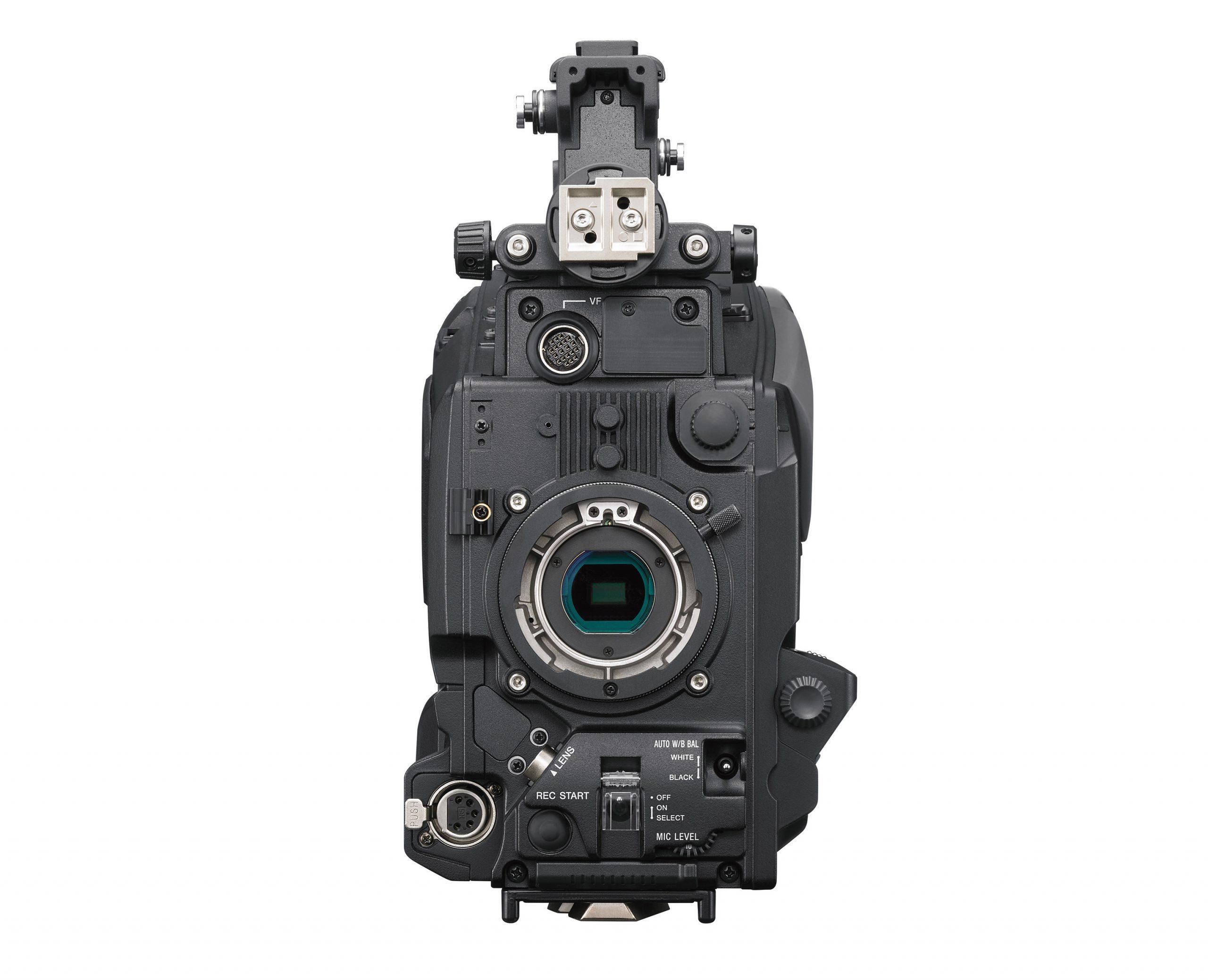 PXW-Z750 Frontal detalle