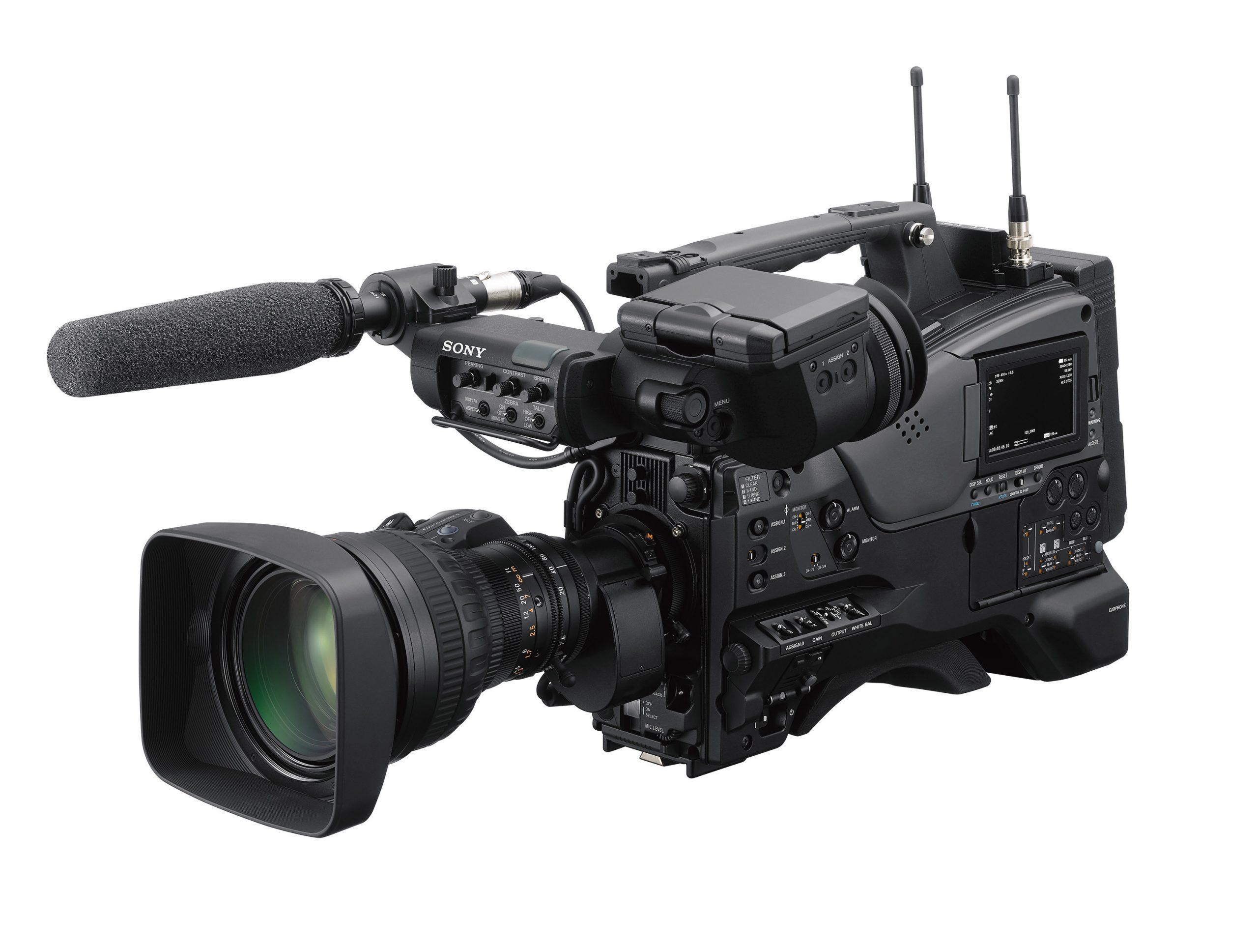 PXW-Z750 Frontal