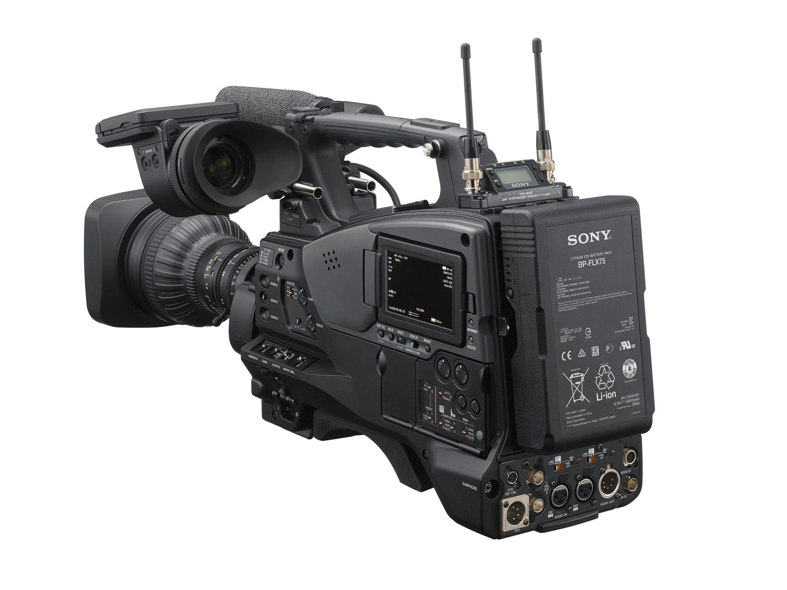 PXW-Z750 Vista general