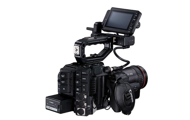 Canon EOS C300 Mark III – Vista lateral