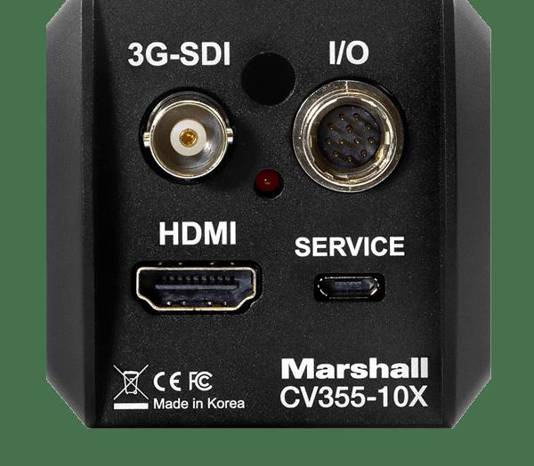 Marshall CV355-10X – Trasera