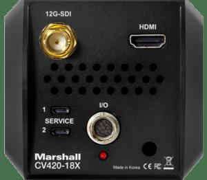 Visión trasera Marshall CV420-18X
