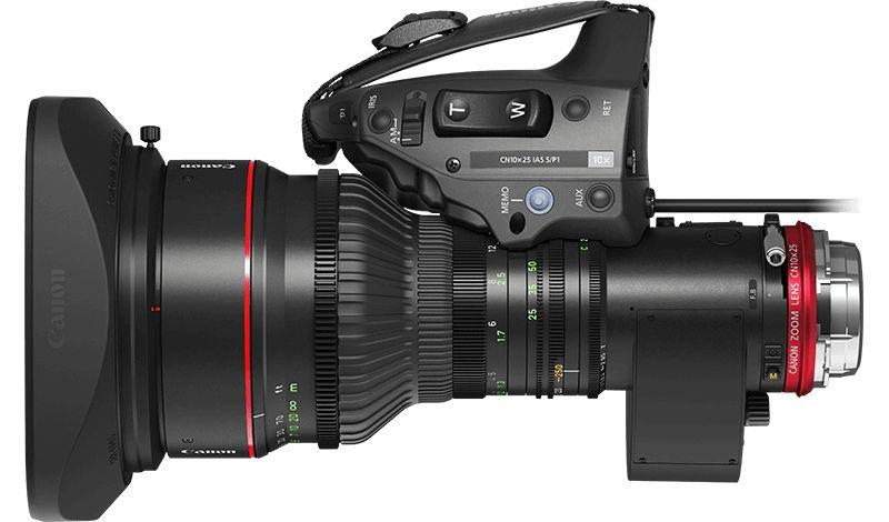 Canon CN10x25 IAS S Vista Superior