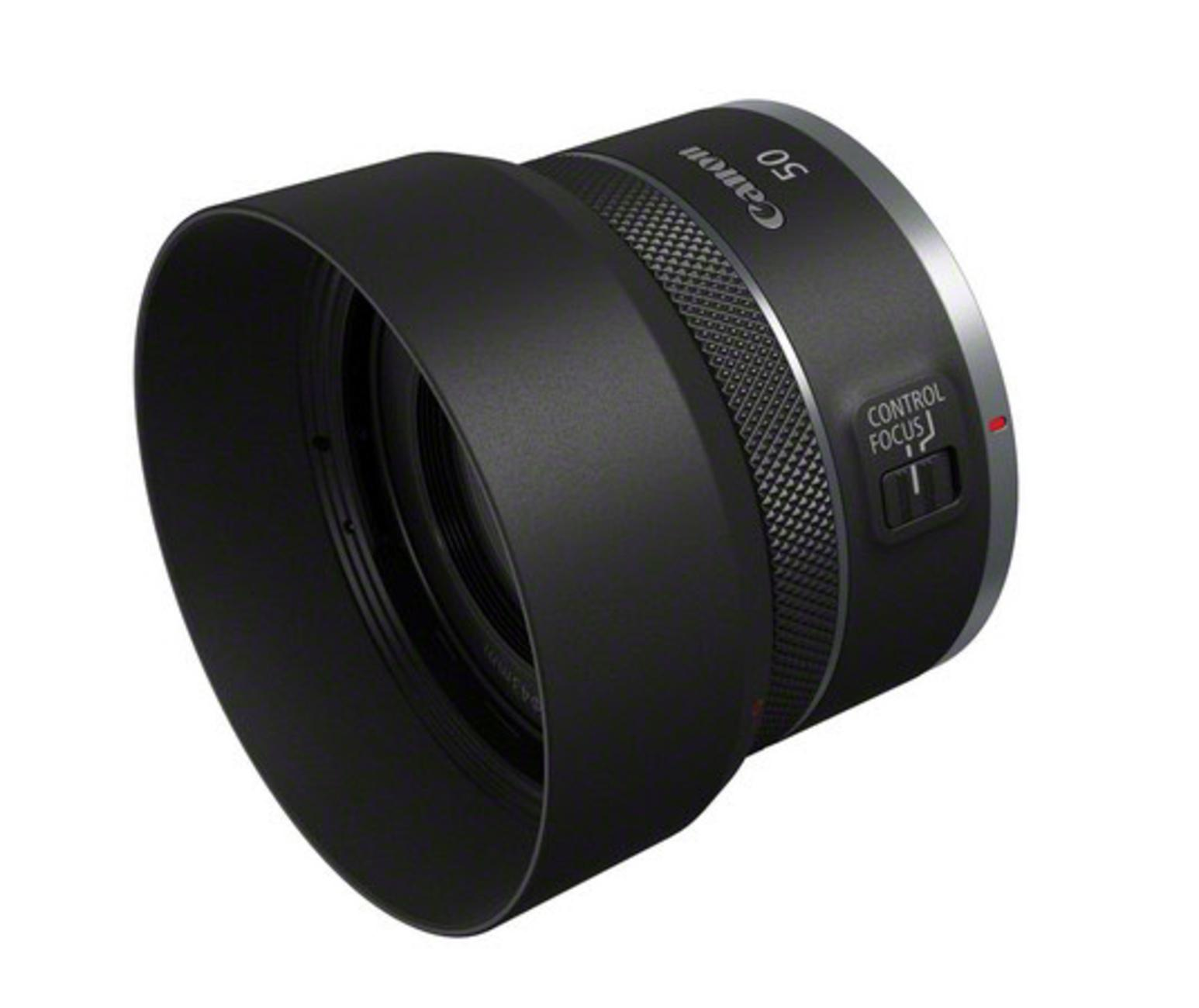 RF50mm F1.8 STM_Front_Slant_with_hood[1]