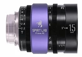 Spirit Lab Prime Series Al 15mm – Vista detalle