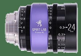 Spirit Lab Prime Series Al 24mm – Vista detalle