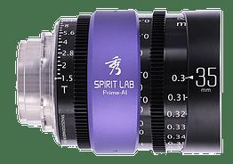 Spirit Lab Prime Series Al 35mm – T Vista detalle