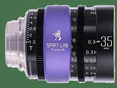 Spirit Lab Prime Series Al 35mm - Vista detalle