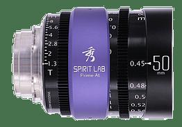 Spirit Lab Prime Series Al 50mm – Vista detalle