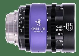 Spirit Lab Prime Series Al 85mm – Vista detalle