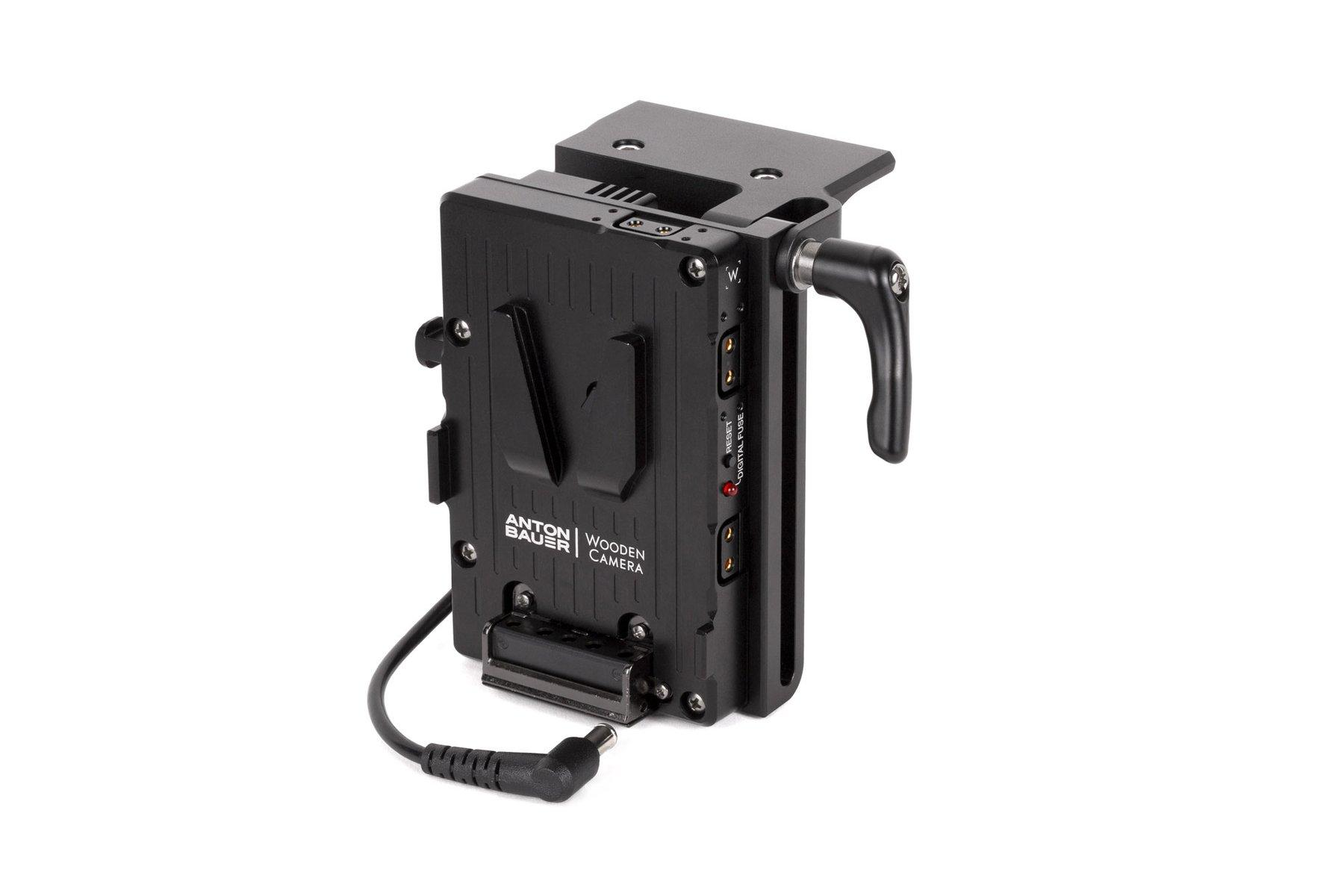 Adaptador V-Mount Sony FX9 – Vista lateral