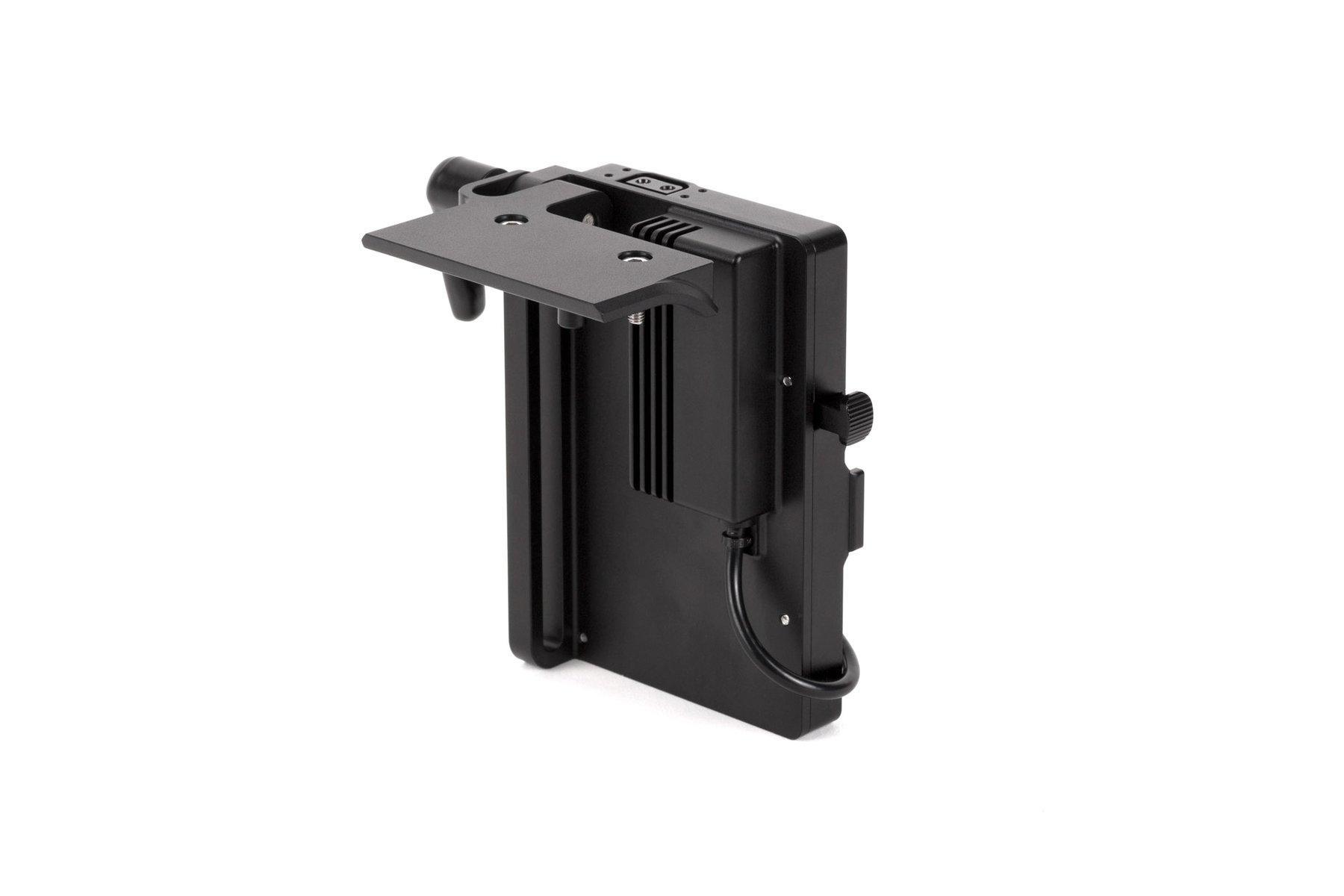 Adaptador V-Mount Sony FX9 – Vista trasera