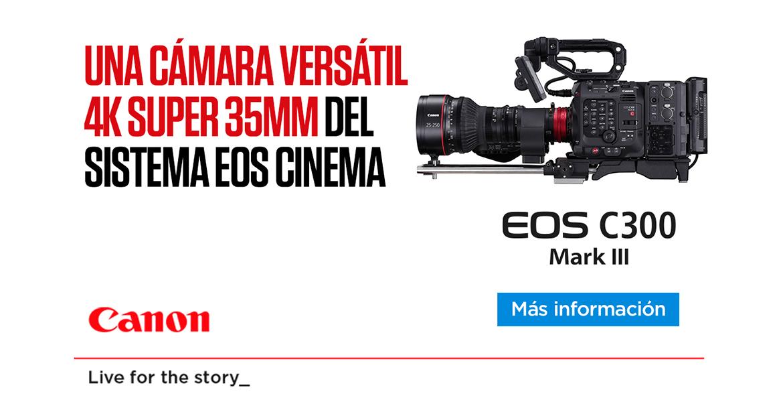 Canon EOS C300 MarkIII