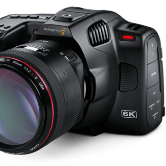 Blackmagic Pocket Cinema Camera 6K Pro -Visión General de la cámara