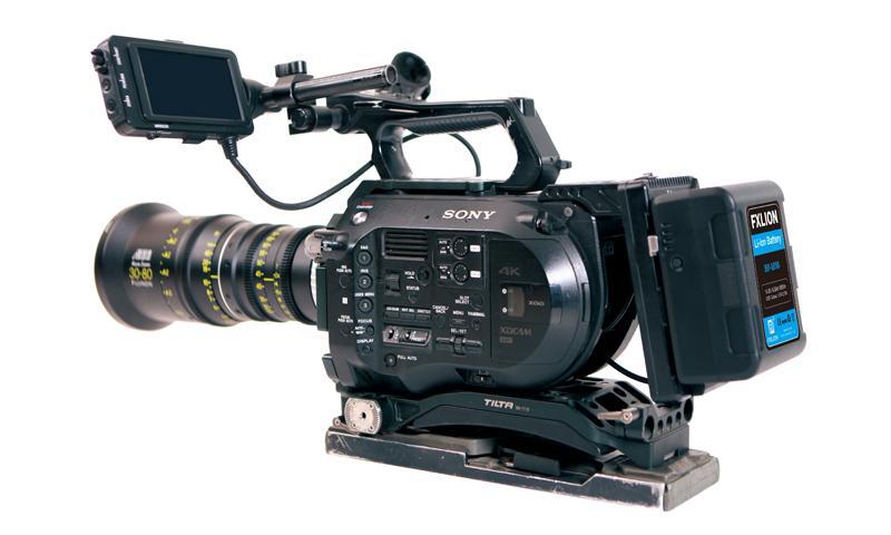 FXLION BP-M150 V-Mount -Montada en cámara