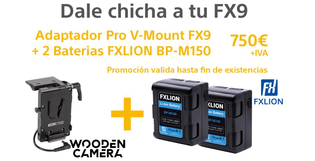 Promoción Wooden Camera más FXLion