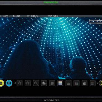 Atomos Shinobi 7 - Vista Frontal