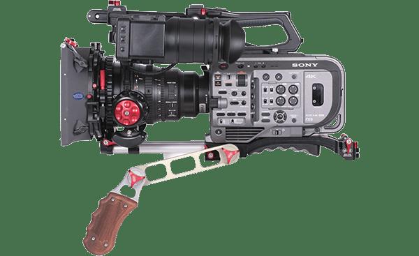 W5 Vocas Base Plate MKII Sony FX9 – Con cámara y accesorios copia
