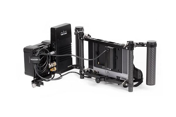 Wooden Camera – Director Cage v3 1 – Vista montado – Con Teradek