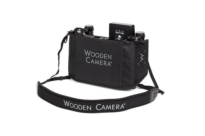 Wooden Camera – Director Cage v3 1 – Vista montado – Parte trasera – SIn Teradek