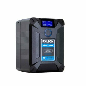 Vista perpendicular batería FXLion Nano Three